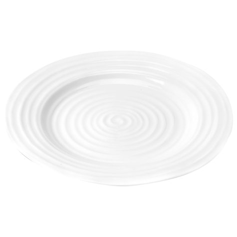 Buy Sophie Conran for Portmeirion Bistro Plate, Set of 2, White Online at johnlewis.com