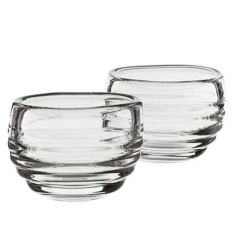 Buy Sophie Conran for Portmeirion Tealight Holder, Set of 2, White Online at johnlewis.com