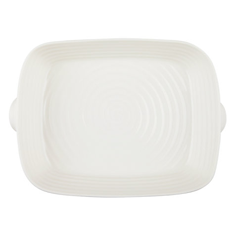 Buy Sophie Conran for Portmeirion Small Handled Roasting Dish, White Online at johnlewis.com