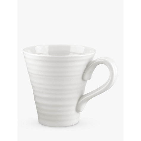 Buy Sophie Conran for Portmeirion Mug, 0.35L, White Online at johnlewis.com