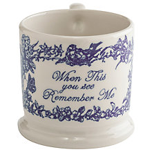 Buy Doris Remember Me Mug Online at johnlewis.com