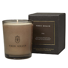 Buy True Grace Fig Scented Candle Online at johnlewis.com