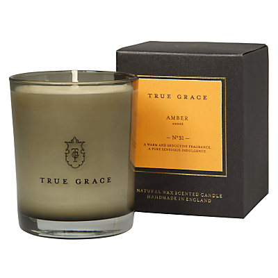 True Grace Amber Scented Candle
