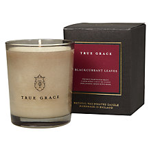 Buy True Grace Blackcurrant Leaves Scented Candle Online at johnlewis.com