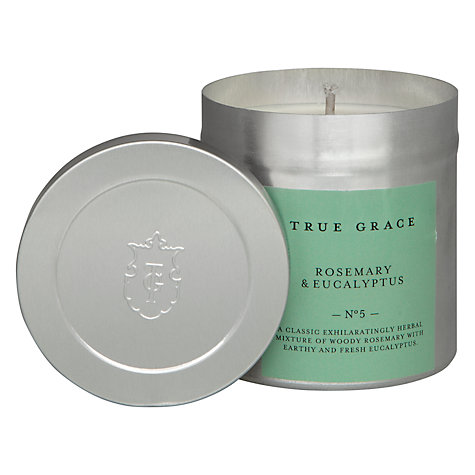 Buy True Grace Rosemary and Eucalyptus Scented Candle Tin Online at johnlewis.com