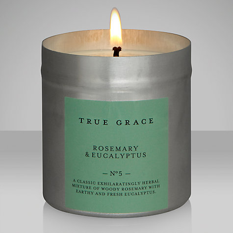 Buy True Grace Rosemary and Eucalyptus Scented Tin Candle Online at johnlewis.com