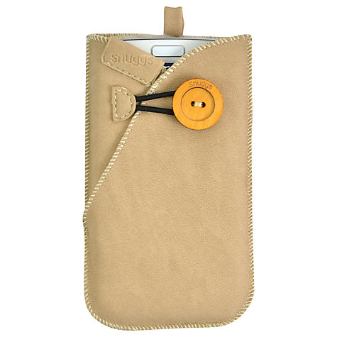 Buy Snuggs Phone Cover, Natural Online at johnlewis.com
