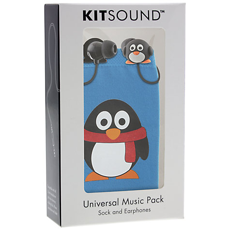 Buy Kondor Penguin Headphones and Sock Set Online at johnlewis.com