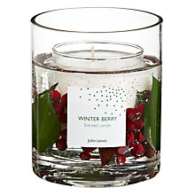 Buy John Lewis Winter Berry Gel Candle, Large Online at johnlewis.com