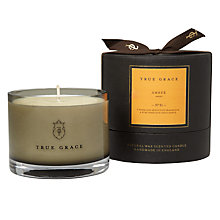 Buy True Grace Amber Scented Bowl Candle Online at johnlewis.com