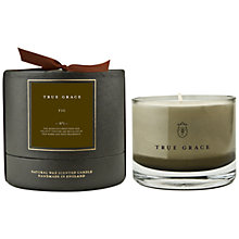 Buy True Grace Fig Scented Bowl Candle Online at johnlewis.com