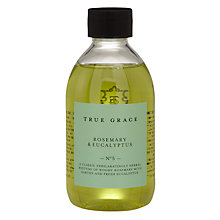 Buy True Grace Rosemary and Eucalyptus Refill, 250ml Online at johnlewis.com