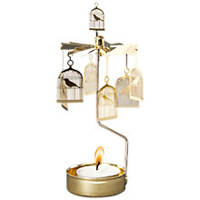 Buy Pluto Birdcage Chimes Tealight Holder Online at johnlewis.com