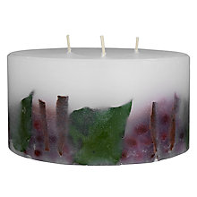 Buy John Lewis Winter Berry Inclusion Scented 3-Wick Candle Online at johnlewis.com