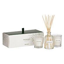 Buy John Lewis Winter Berry Diffuser and Votive Gift Set Online at johnlewis.com