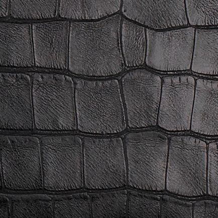 Crocodile Print Black