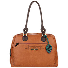 Buy Nica Zena Triple Compartment Shoulder Bag, Tan Online at johnlewis.com