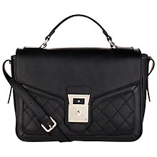 Buy Fiorelli Chelsea Satchel, Black Online at johnlewis.com