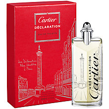 Buy Cartier Women's Declaration D'Un Soir Place Vendôme Limited Edition Eau de Toilette, 100ml Online at johnlewis.com