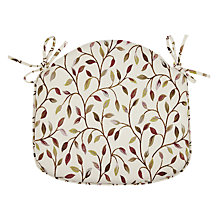 Buy Voyage Cervino Seat Pad, Damson Online at johnlewis.com