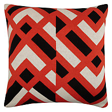Buy John Lewis Knitted Chevron Cushion Online at johnlewis.com