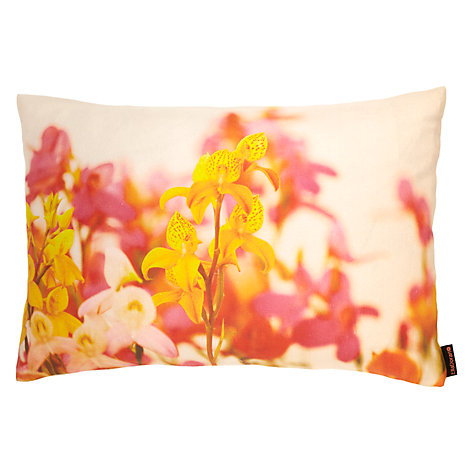 Buy Ella Doran Orchids Landscape Cushion Online at johnlewis.com