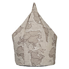 Buy John Lewis World Map Beanbag Online at johnlewis.com