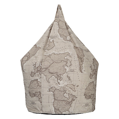 Buy John Lewis World Map Bean Bag Online at johnlewis.com
