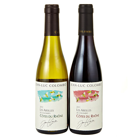 Buy Jean-Luc Colombo Côtes du Rhône Red and White Wine Set, 75cl Online at johnlewis.com