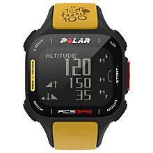 Buy Polar RC3 GPS Tour de France Heart Rate Monitor and Sports Watch Online at johnlewis.com