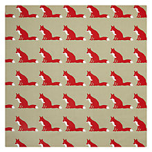 Buy Anorak Proud Fox PVC Fabric Online at johnlewis.com