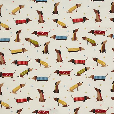 John Lewis Saucisson PVC Tablecloth Fabric, Multi