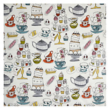 Buy John Lewis Tea & Cake PVC Tablecloth Fabric Online at johnlewis.com