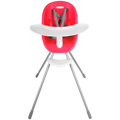Buy Phil & Teds Poppy Highchair, Cranberry Online at johnlewis.com