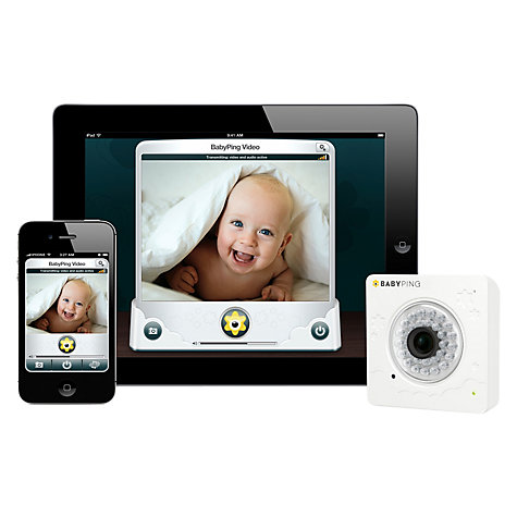 Buy BabyPing Wi-Fi Baby Monitor Online at johnlewis.com