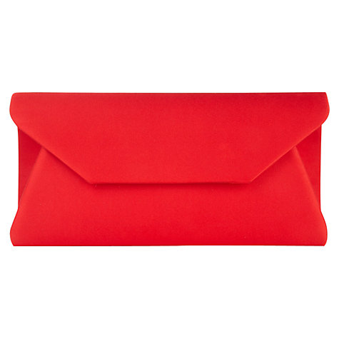 Buy Alexon Envelope Clutch, Red Online at johnlewis.com