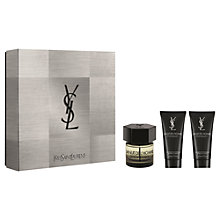 Buy Yves Saint Laurent La Nuit Pour Homme Eau de Toilette Fragrance Gift Set, 60ml Online at johnlewis.com