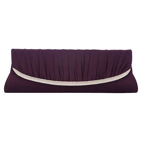 Buy Jacques Vert Contrasting Clutch, Wine Online at johnlewis.com