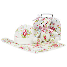 Buy Cath Kidston Baby Gift Set Suitcase, White Online at johnlewis.com