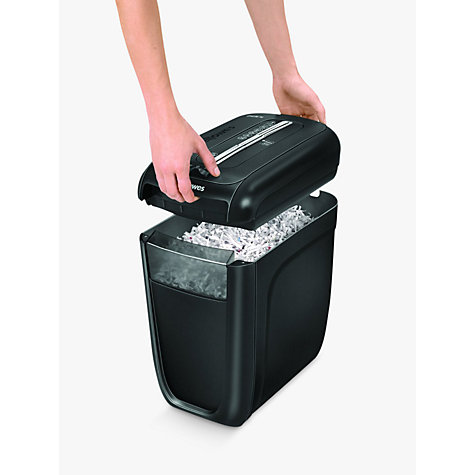 Buy Fellowes Powershred 60Cs Cross Cut Shredder, 22L Online at johnlewis.com
