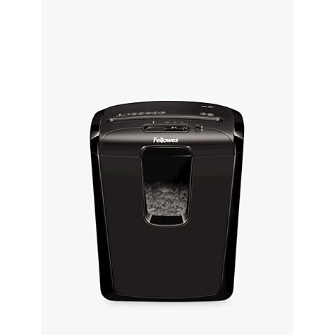 Buy Fellowes Powershred M-8C Cross Cut Shredder, 15L Online at johnlewis.com