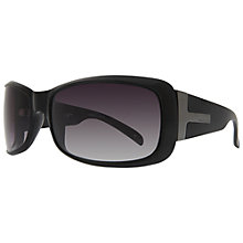 Buy BLOC Pacific T 1330 Oversized Square Sunglasses, Black Online at johnlewis.com