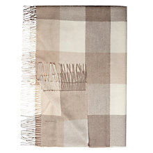 Buy Bronte Alpaca Checked Throw Online at johnlewis.com