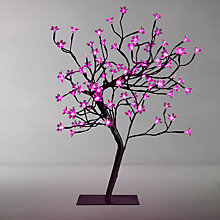 Buy Parlane 96 LED Blossom Tree Light, Large, Pink Online at johnlewis.com