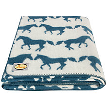 Buy Anorak Kissing Horses Blanket Online at johnlewis.com