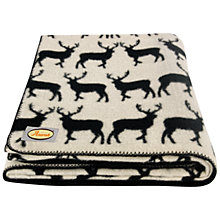 Buy Anorak Kissing Stags Blanket Online at johnlewis.com