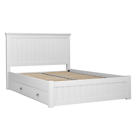 Buy John Lewis Helston Storage Bed, Double Online at johnlewis.com
