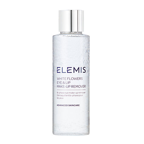 Buy Elemis White Flowers Eye And Lip Make-Up Remover, 125ml Online at johnlewis.com