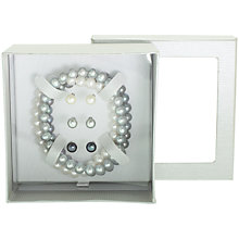 Buy Lido Pearls Freshwater Pearl And Sterling Silver Bracelets And Earrings Boxed Set Online at johnlewis.com