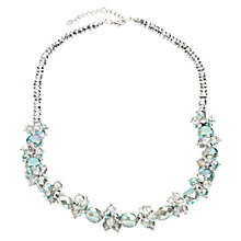 Buy One Button Faceted Crystal Glass Beaded Necklace Online at johnlewis.com